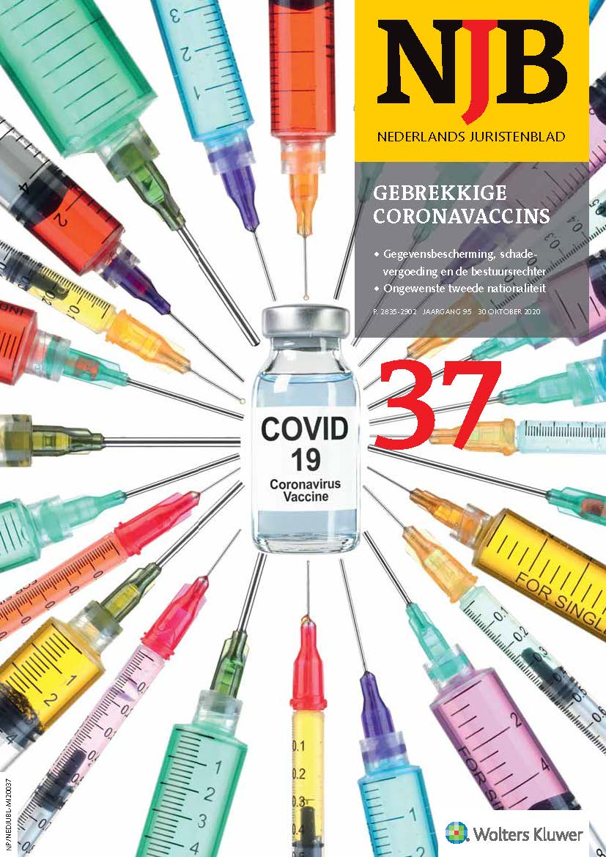 Gebrekkige coronavaccins - Gedachten over immuniteit, maatschappelijke solidariteit en een schadefonds
