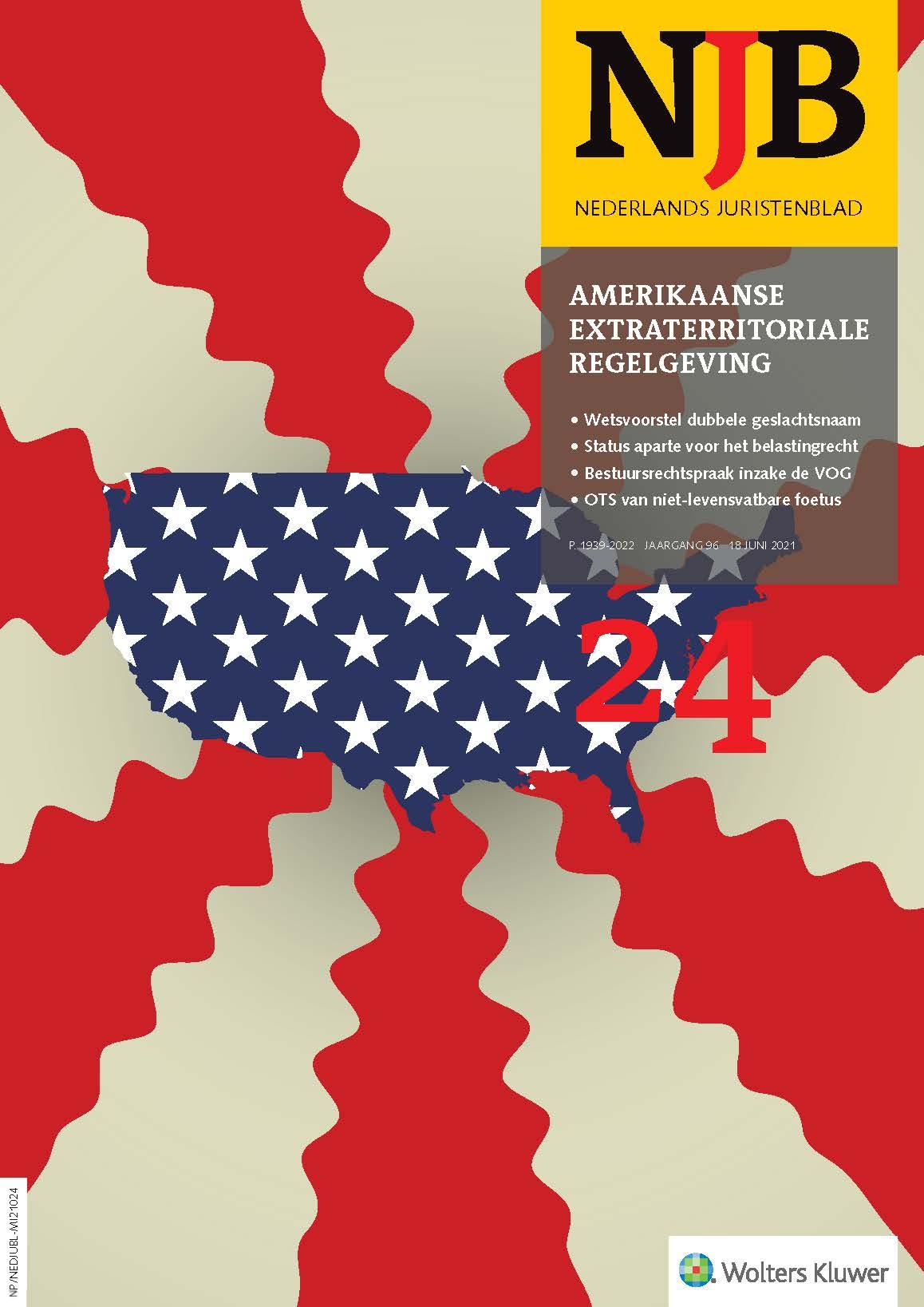 De impact van Amerikaanse extraterritoriale regelgeving op Nederlandse belangen