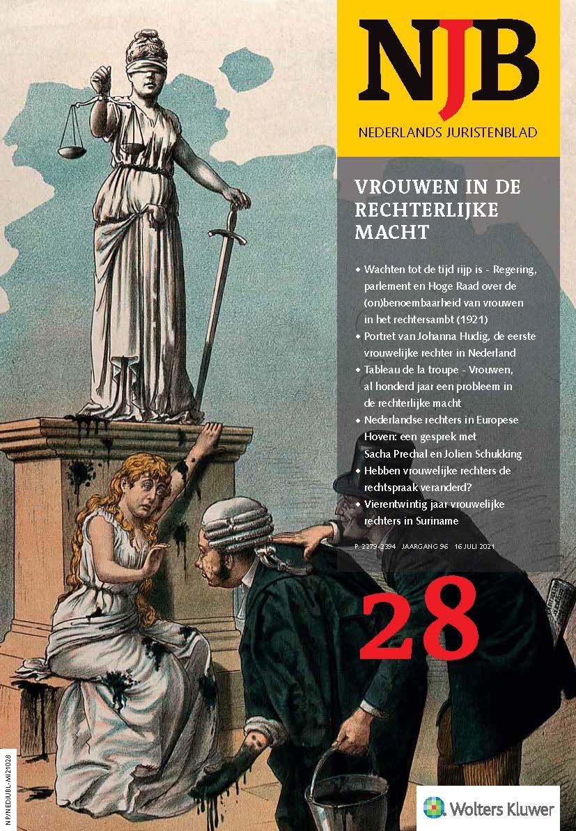 Hebben vrouwelijke rechters de rechtspraak veranderd?